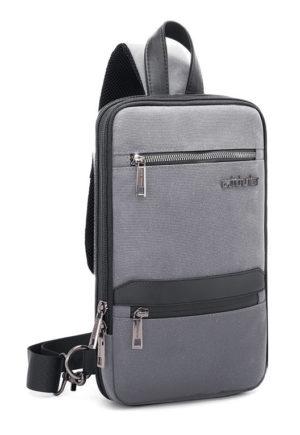 ARCTIC HUNTER Τσάντα Crossbody XB00109-GY, πτυσσόμενη, γκρι