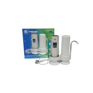 Aqua Filter FHCTF2 Διπλό Φίλτρο Άνω Πάγκου