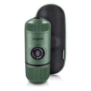 wacaco-nanopresso-πράσινο-χρώμα-μηχανή-χειρός-espresso-με-θή