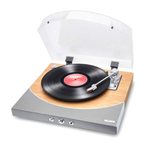ION Premier LP Natural Wood Bluetooth Πικάπ