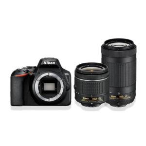 Nikon D3500+AF-P DX 18-55 VR+AF-P DX 70-300 VR+Κάρτα SD32GB+Τρίποδο+τσάντα Δώρο