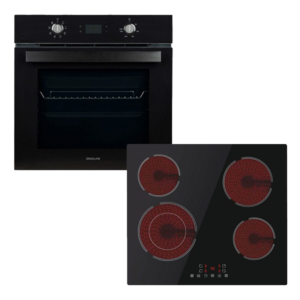 DAVOLINE DSBO 8004 & DAVOLINE BVC 6005 Αυτόνομος φούρνος & αυτόνομη κεραμική εστία
