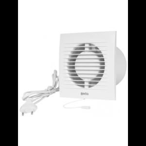 Europlast EE100WP – Εξαεριστήρας μπάνιου με καλώδιο/φις και διακόπτη – κορδονάκι