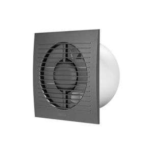 Europlast EE125A – Εξαεριστήρας μπάνιου Ανθρακί