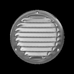 Europlast MR125i – Περσίδα Εξαερισμού Ανοξείδωτη (Inox) με Πλέγμα Προστασίας