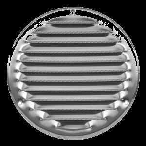 Europlast MR160i – Περσίδα Εξαερισμού Ανοξείδωτη (Inox) με Πλέγμα Προστασίας