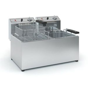 ΤζεΘάν Φριτέζα Φ1003 μονοφασική 230V διπλή ηλεκτρική