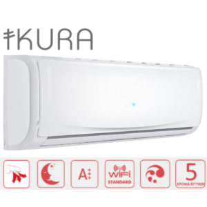 IKURA IKI-09/IKO-09 9000BTU ΚΛΙΜΑΤΙΣΤΙΚΟ WiFi STANDARD