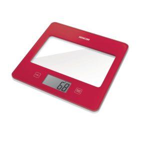 Sencor SKS 502 Ψηφιακή Ζυγαριά Κουζίνας 5kg Red