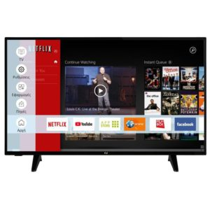 """F&U FLS43207 Smart Τηλεόραση LED Full HD 43"""""""