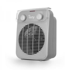 Izzy IZ-9013 Αερόθερμο Μπάνιου Δαπέδου 2000W Γκρι