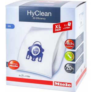 Miele XL-Pack GN HyClean 3D Σακούλες Σκούπας 8τμχ